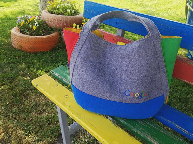 Google Purse Bag