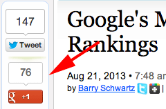 Google+ Rankings