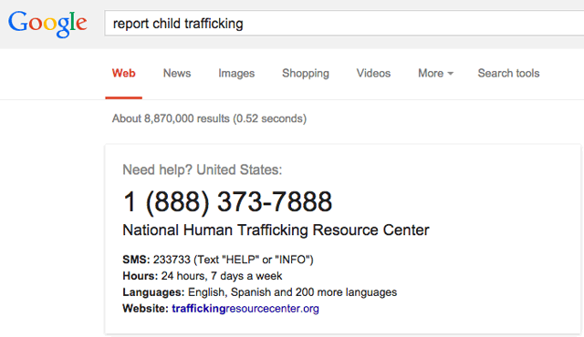 Google Report Child Trafficking Quick Answer