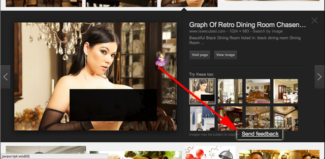 Reporting Offensive Images In Google Image Search