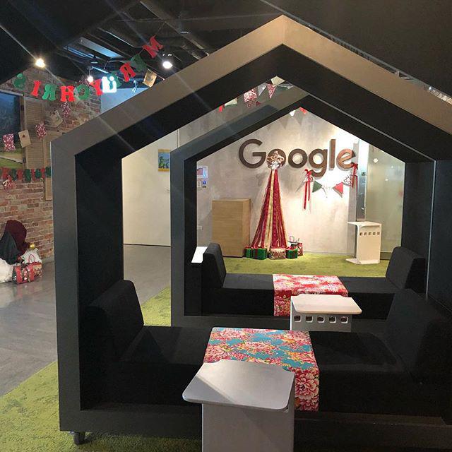 Google Resting Spots