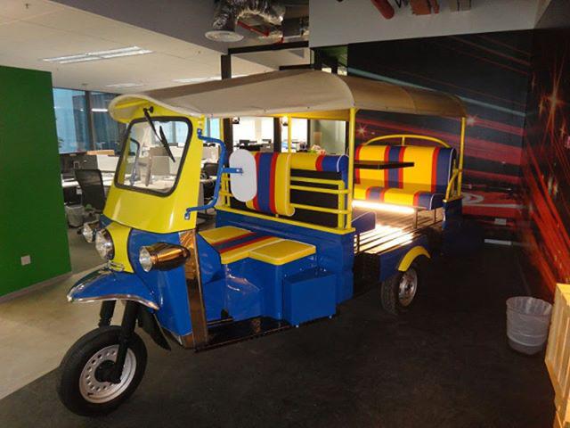 Google Pedicab