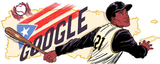 Google Doodle Honors Puerto Rican Major League Baseball
