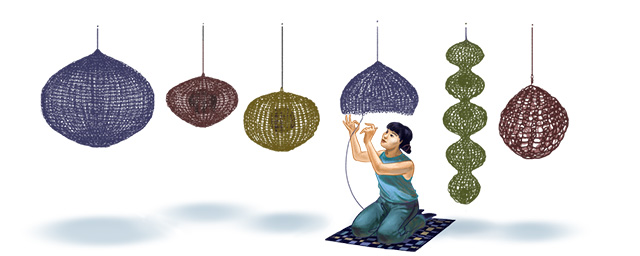 Ruth Asawa Google Wire Sculpture Doodle