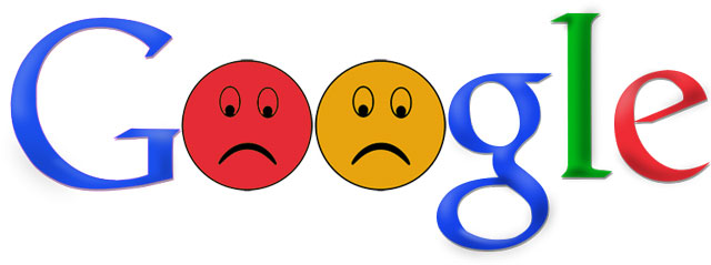 Google Sad Logo
