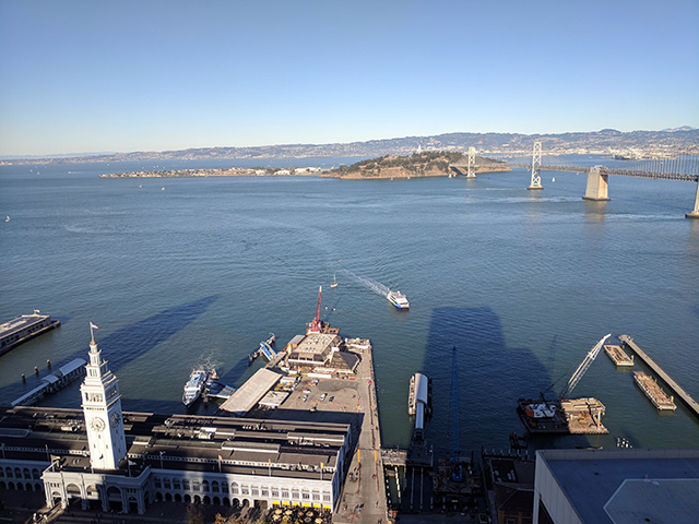 View From Google San Francisco Office
