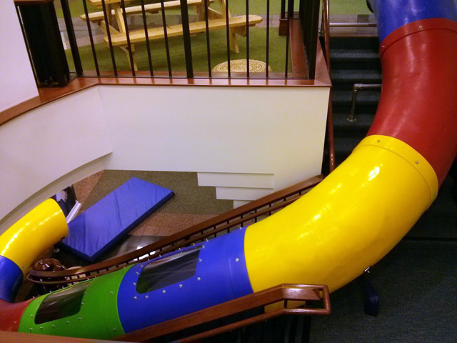 google san francisco office tour office space google san francisco stairs slide