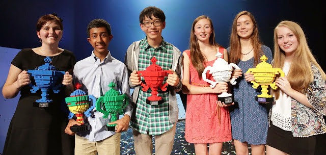 2014 LEGO Trophies For Google Science Fair Winners