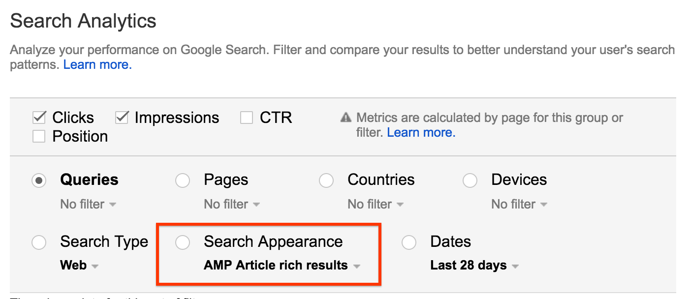 Google Search Console Analytics Report Now Let's You Filter Between Rich Result & Normal Results