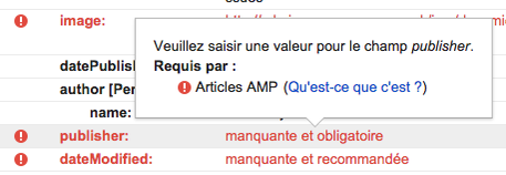 Google Search Console Now Showing AMP Related Errors