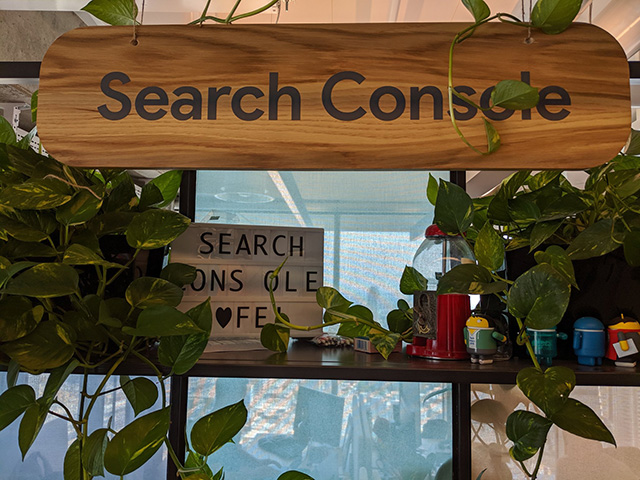 Wood Google Search Console Sign