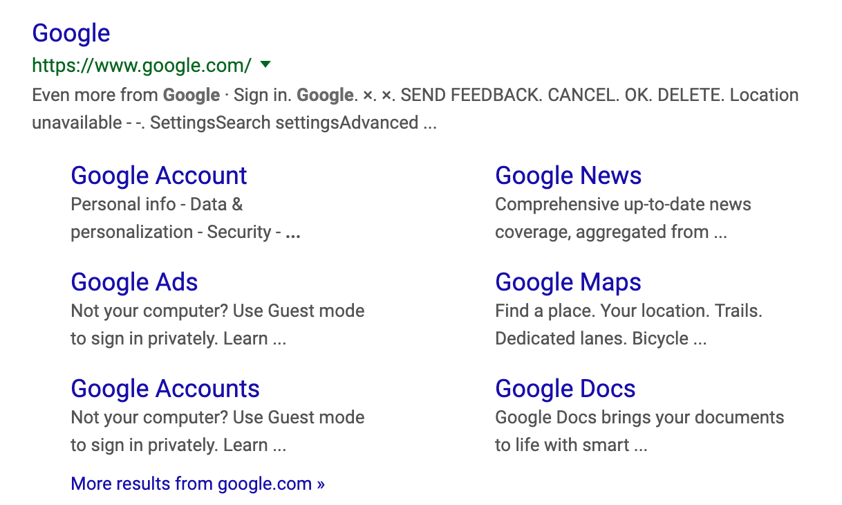 Google Testing Bigger Fonts In Search Results