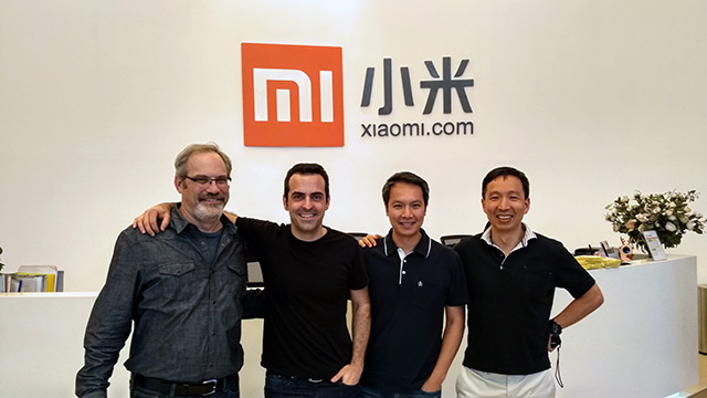 Google Search Team Visits Xiaomi