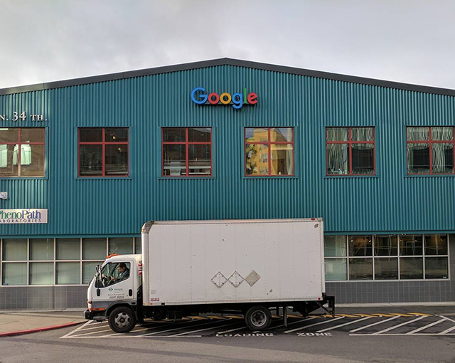 Google Seattle Loading Docks