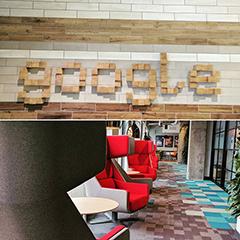 A Google Seattle Lobby