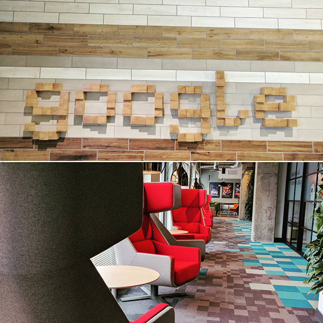 Google Seattle Lobby