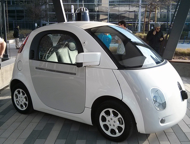 Google's New Model Self Driving Car