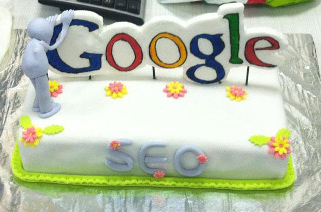 Google SEO Cake