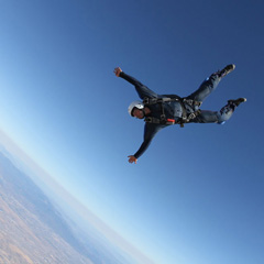 Google's Sergey Brin Skydiving