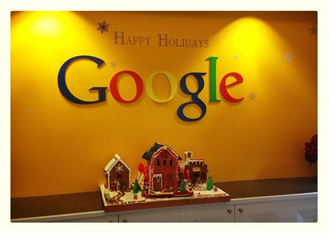 Happy Holidays From Google San Francisco