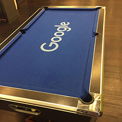 Shiny Google Pool Table