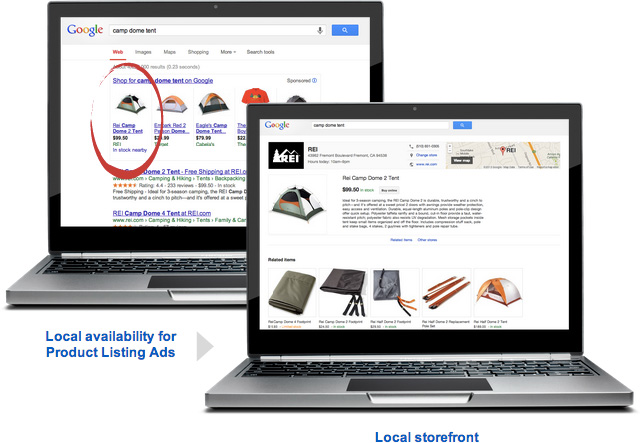 Google Shopping Adds Local Availability