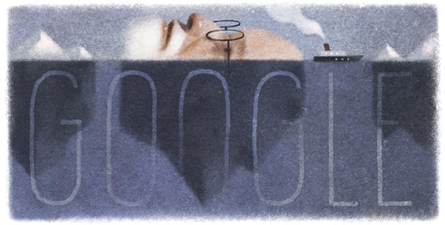 Google Sigmund Freud Logo