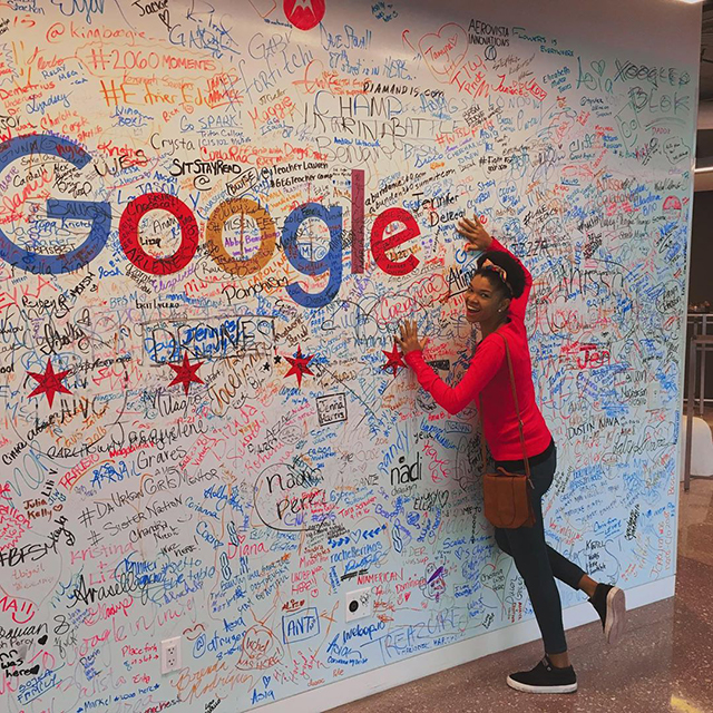 Google Chicago Signature Wall