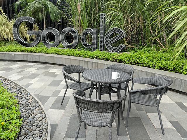 Google Singapore Outdoor Terrace