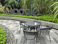 Pretty Google Singapore Outdoor Terrace