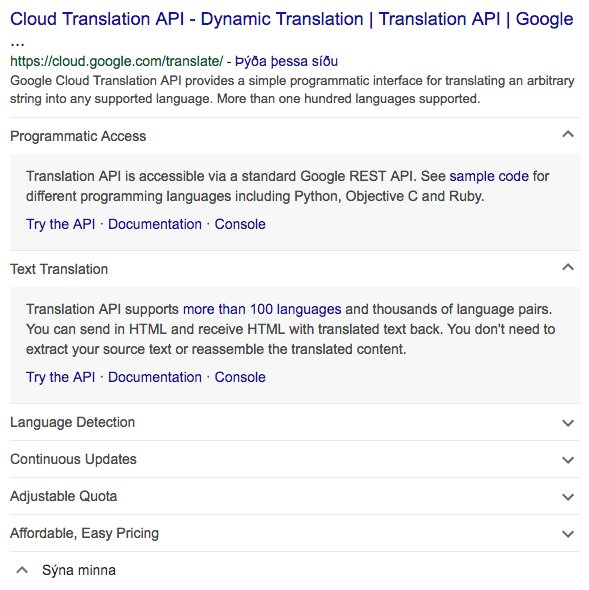 Google Testing Expandable Sitelinks In Search Results