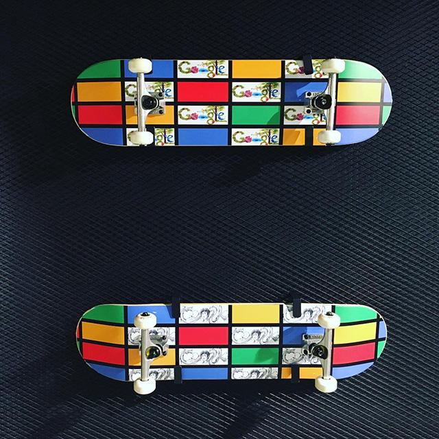 Google Skateboard From Google Hong Kong