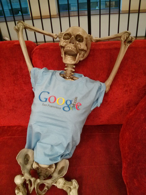 Google Skeleton