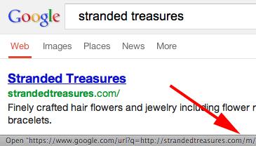 Google Skip Redirect