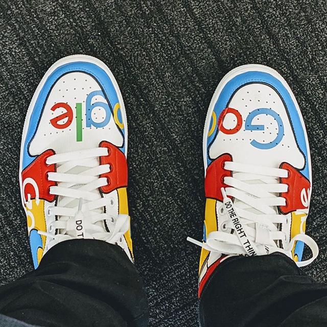 Zapatillas de Google con