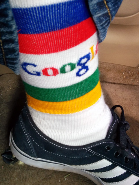 Colorful Google Socks