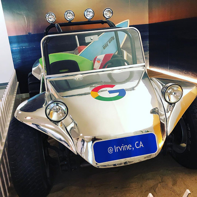 Google Space Ship Jeep