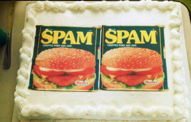 Google Spam Cake