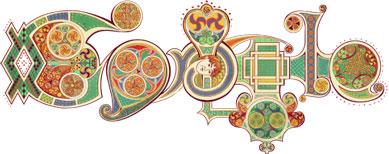 Google's St. Patrick's Day Logo