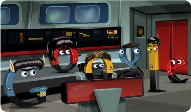 Google Star Trek