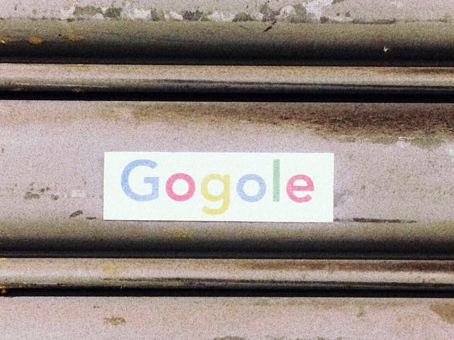Typo On Google Bumper Stickers