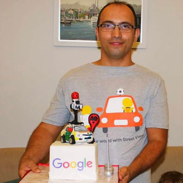 Google Street View Car Cake