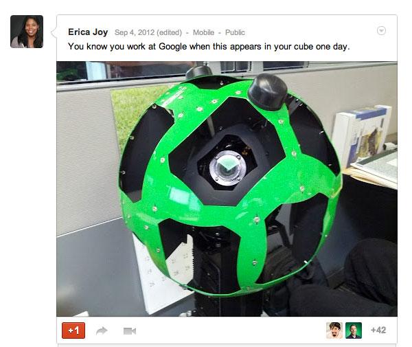 Desk: Google Street View Cube