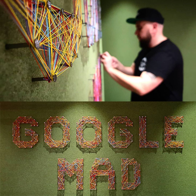 Google String Yarn Art