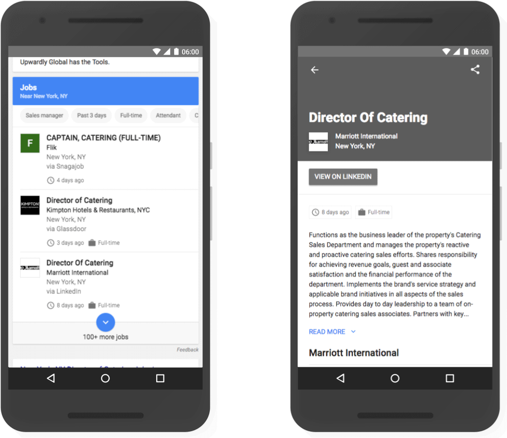 Google Sitemap Schema: Google Launches Job Postings Schema For Job Search Inclusion
