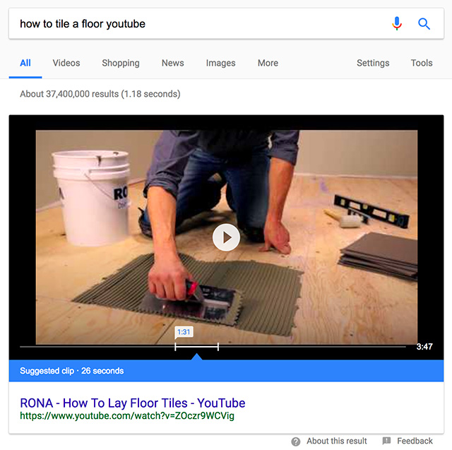 How To Trigger A Google Suggested Clip Video Answer