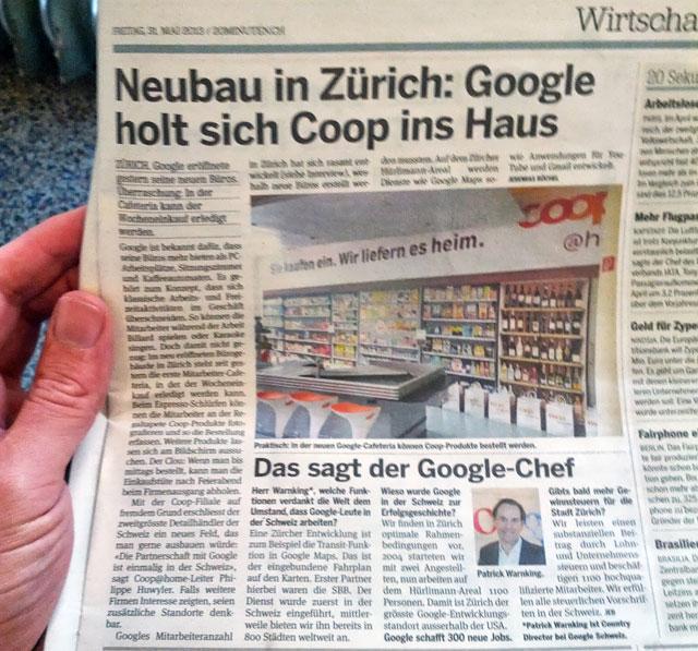 Google Supermarket