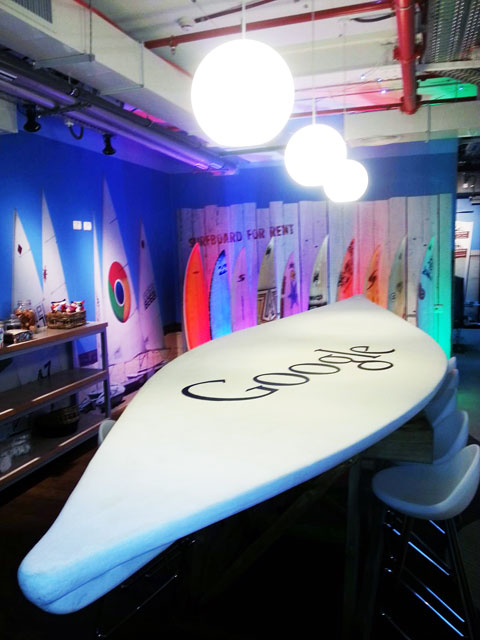 Google Surf Boards