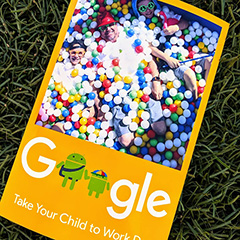 Google Take Your Child To Work Day Fun