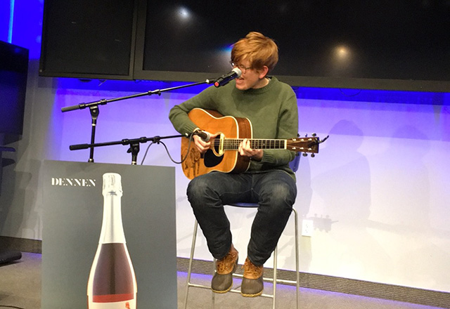 Brett Dennen Plays At Google